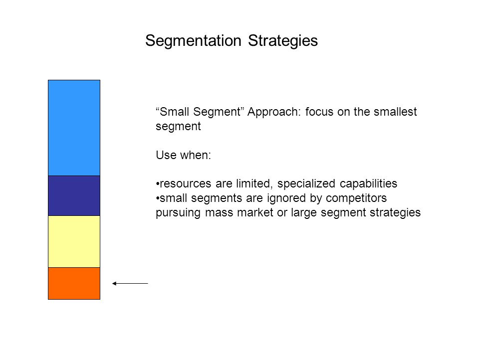 Segmentation Strategies