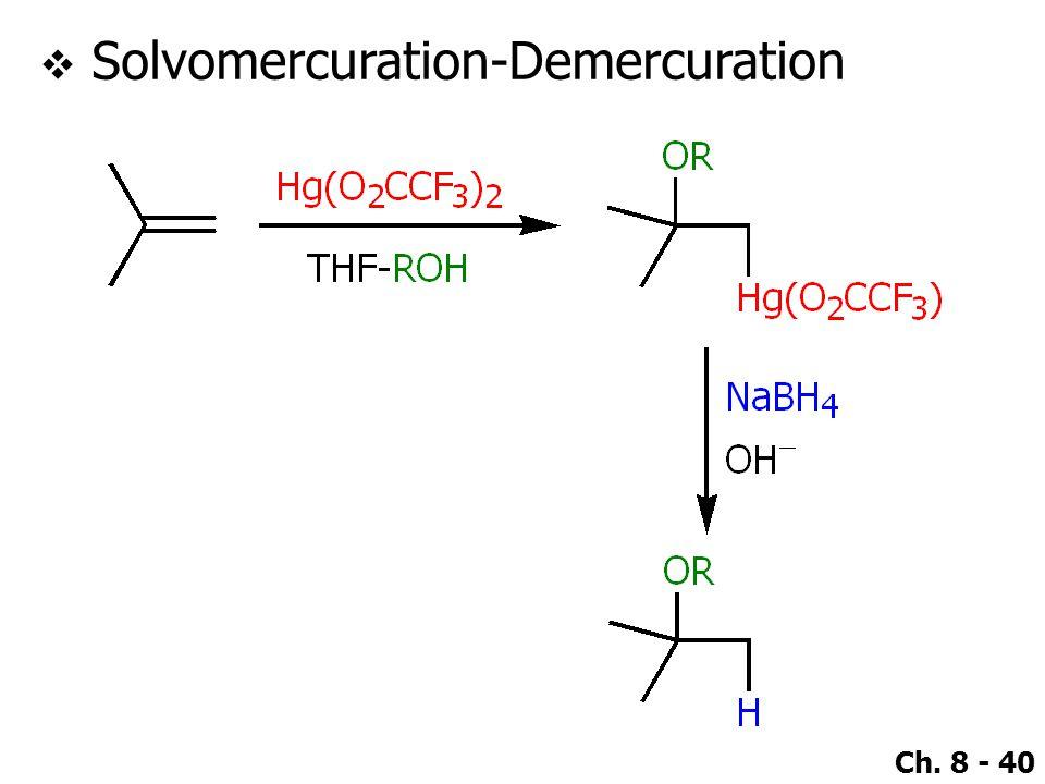 Solvomercuration-Demercuration