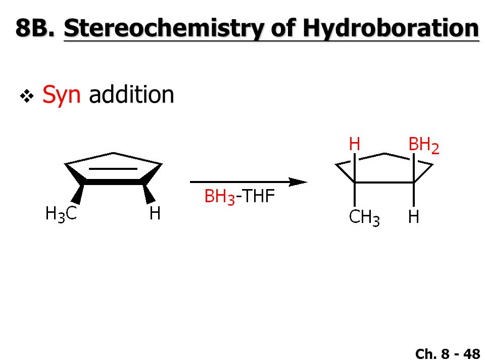 stereochemistry of bromine addition Free essay: subject: experiment 23: stereochemistry of the addition of bromine to trans-cinnamic acid introduction/abstract: the purpose of this experiment.
