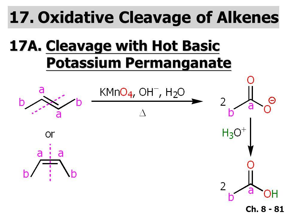 Oxidative Cleavage of Alkenes