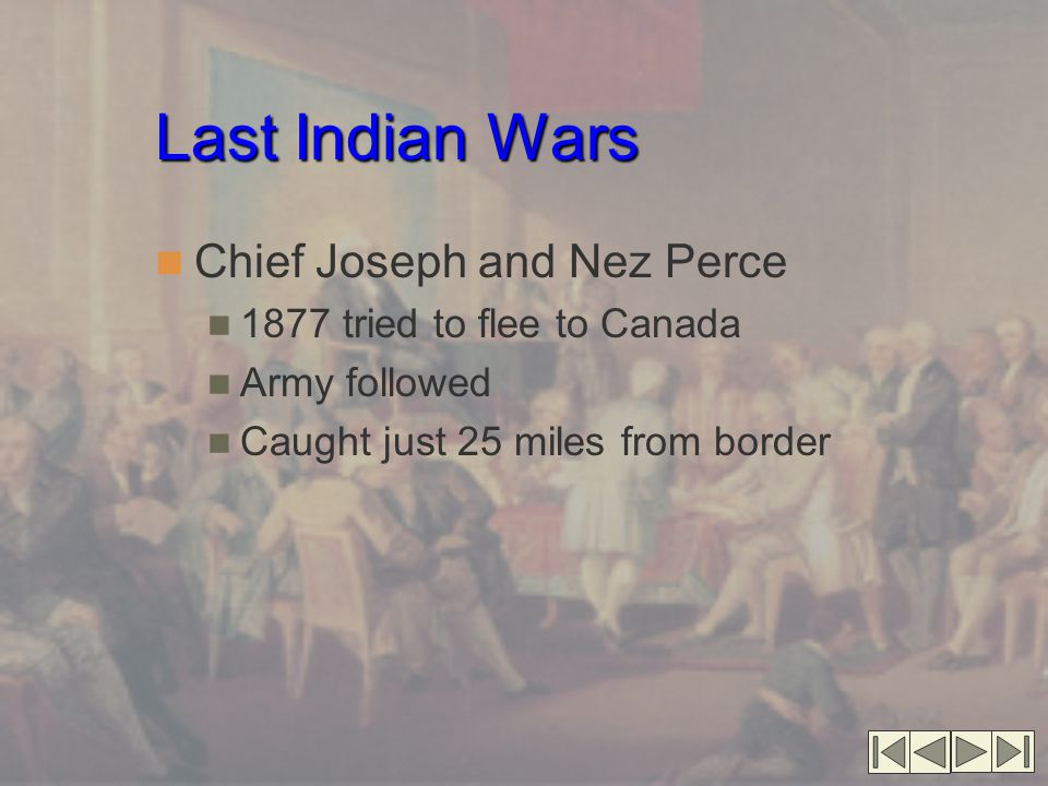 Last Indian Wars Chief Joseph and Nez Perce