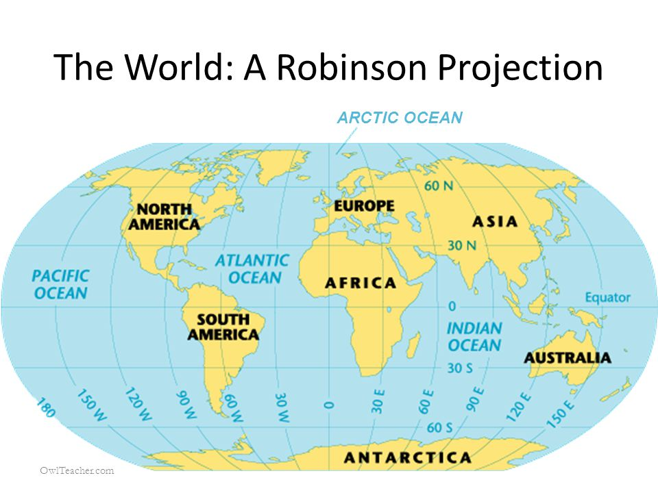 The World: A Robinson Projection