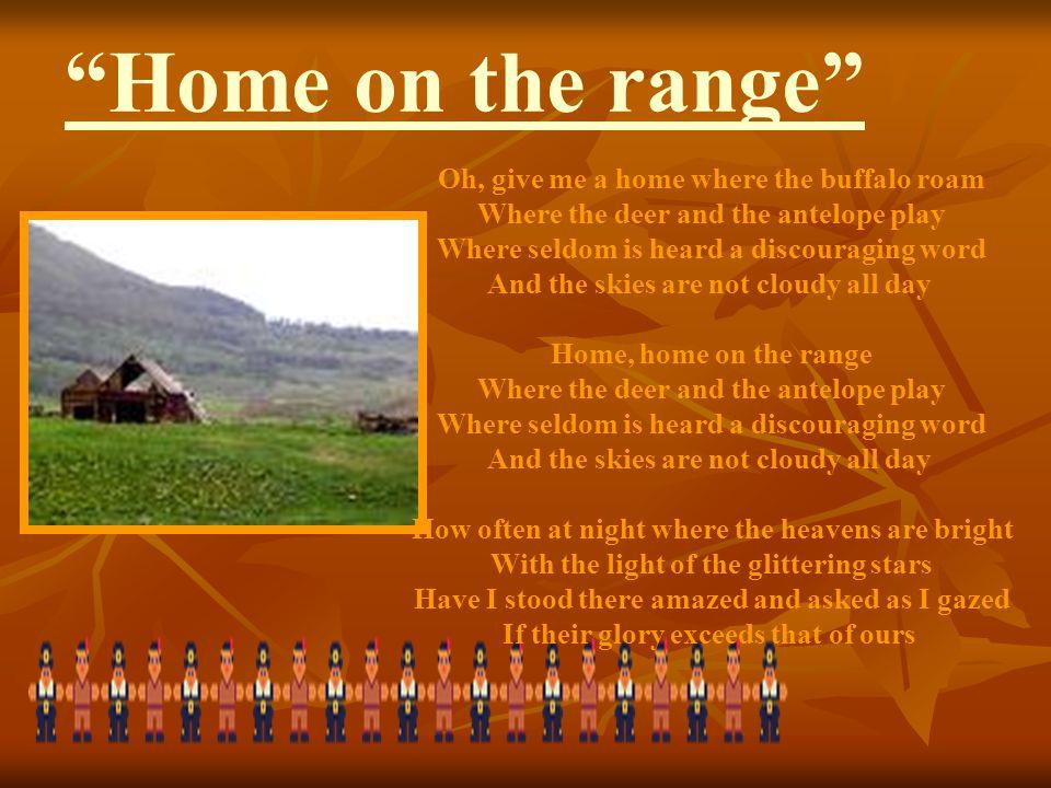 Home on the range