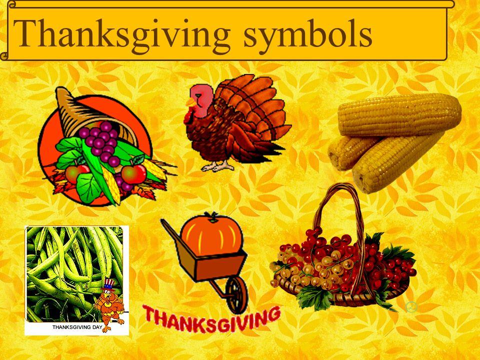 Thanksgiving symbols 18