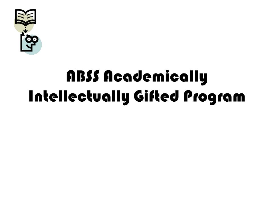 ABSS Academically Intellectually Gifted Program