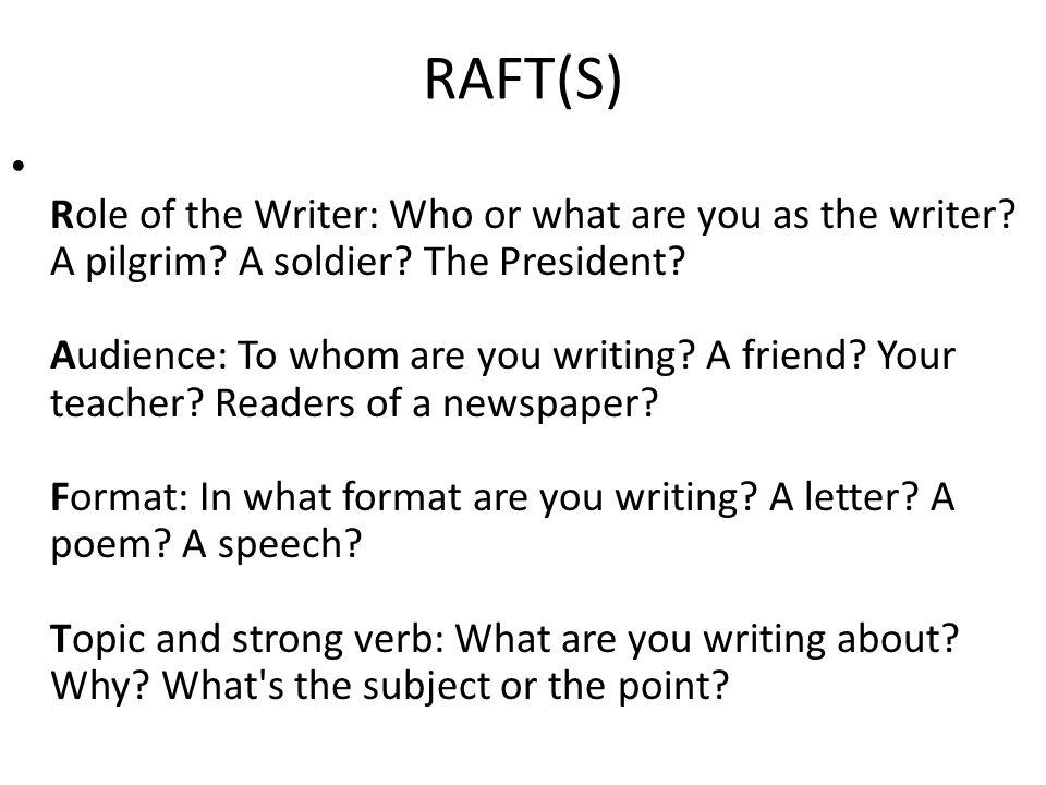 RAFT(S)
