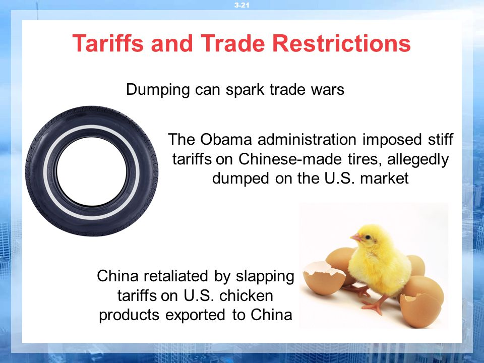 Tariffs and Trade Restrictions