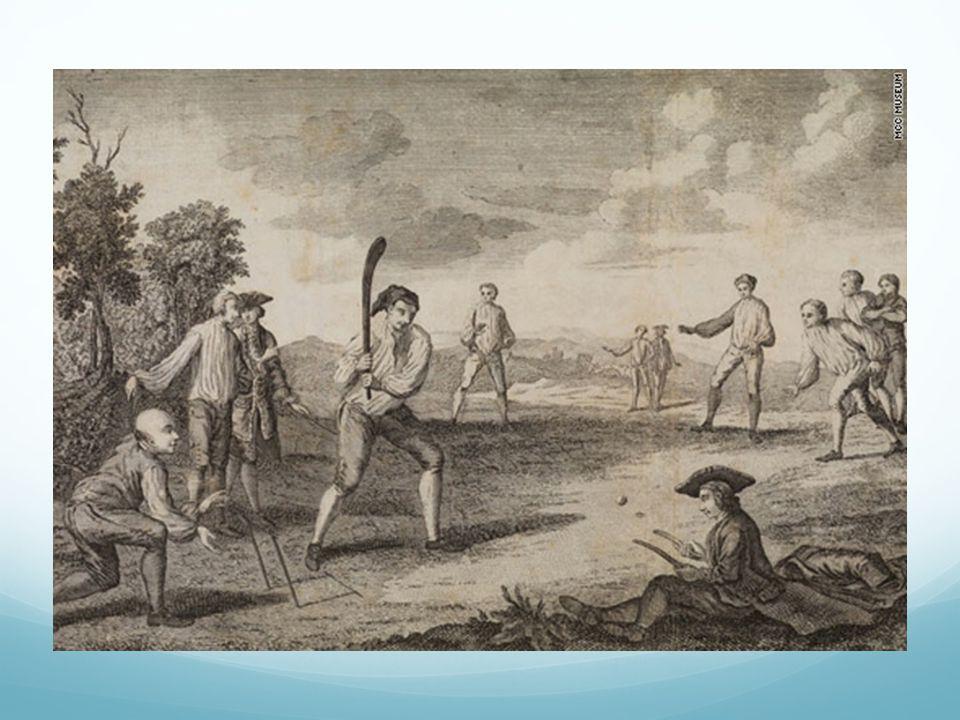 Early 18th century cricket