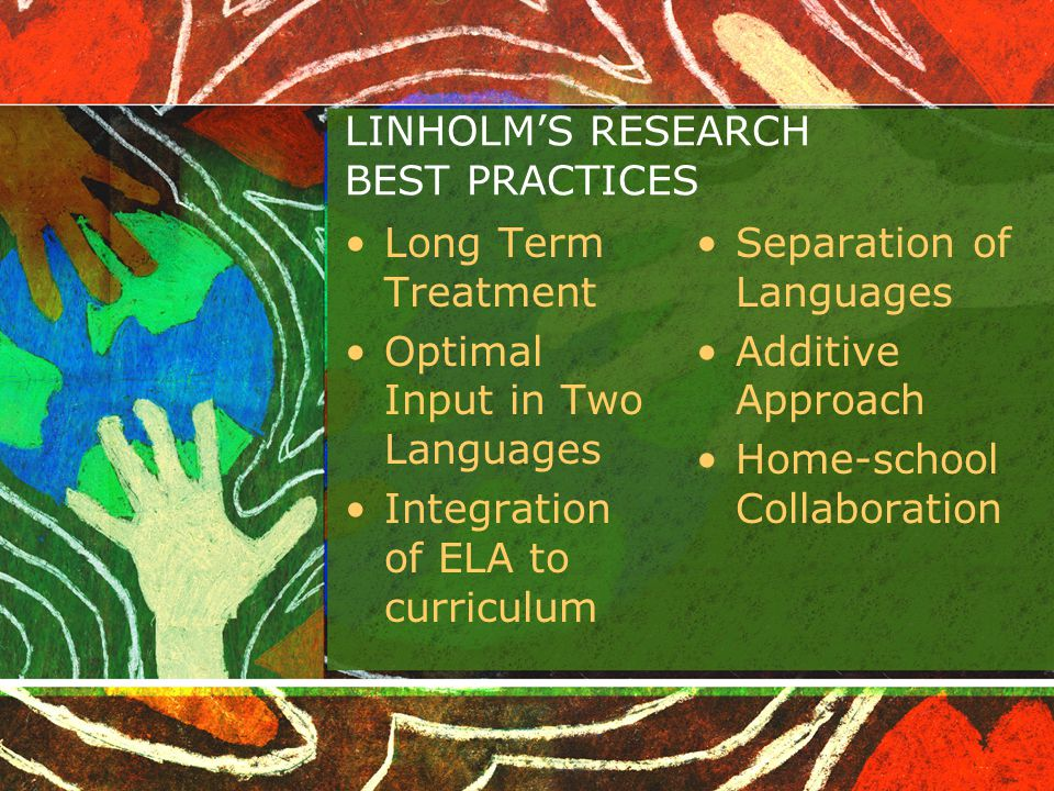 LINHOLM'S RESEARCH BEST PRACTICES