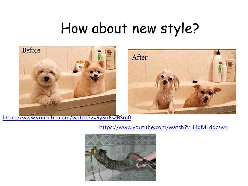 How about new style https://www.youtube.com/watch v=9ySo6sZBSm0