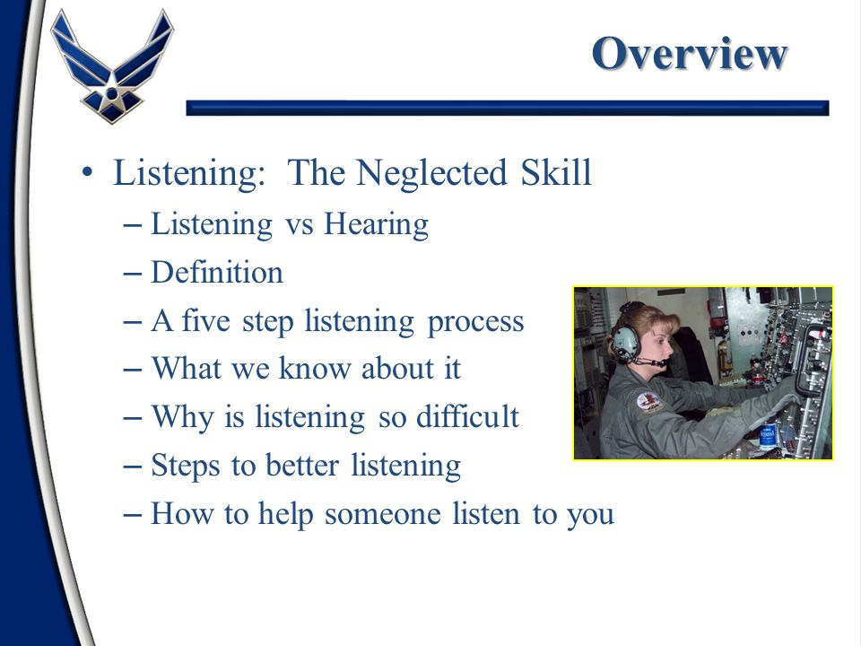 Overview Listening: The Neglected Skill Listening vs Hearing