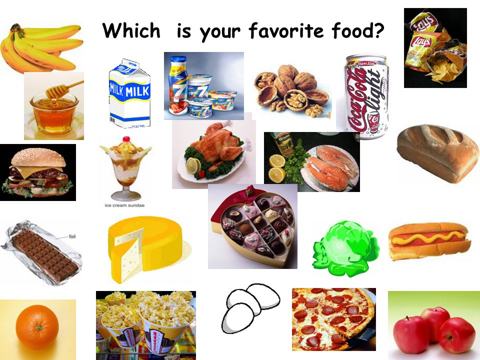 Which is your favorite food