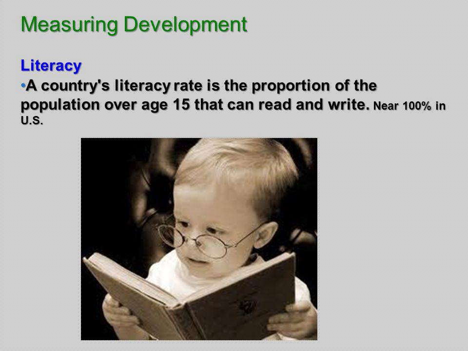Measuring Development