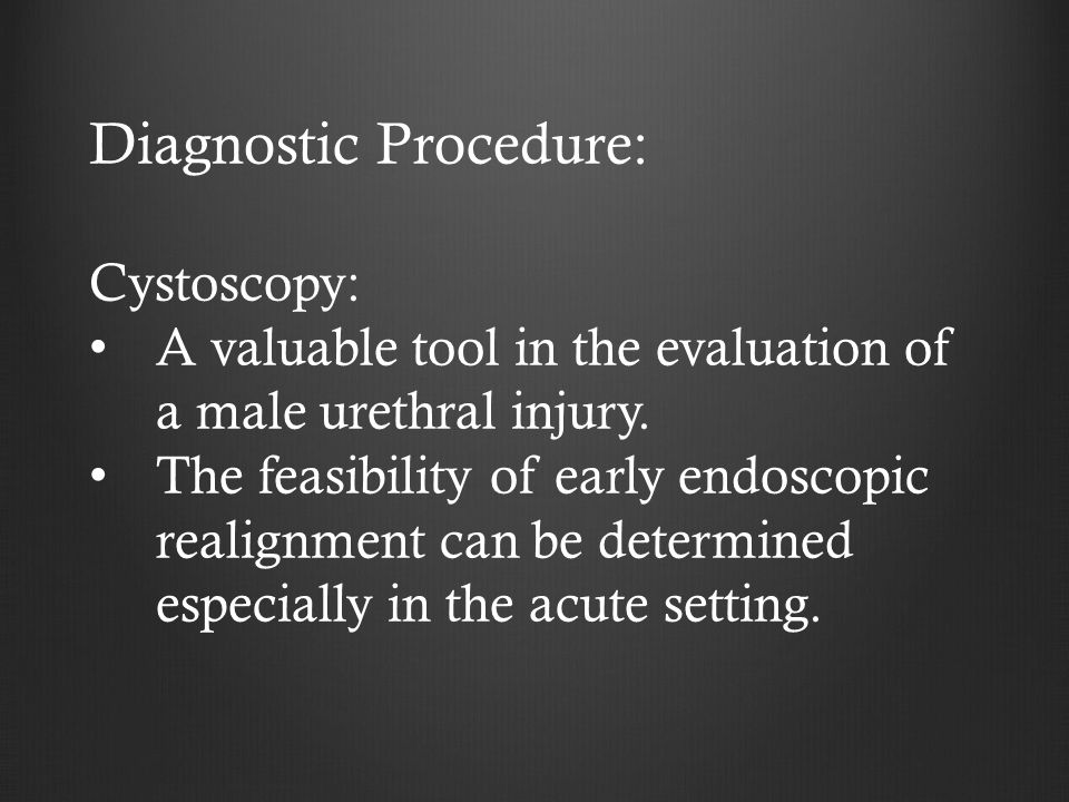Diagnostic Procedure: