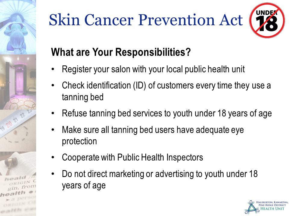 Skin Cancer Prevention Act