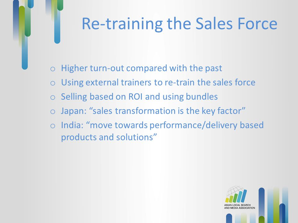 Re-training the Sales Force