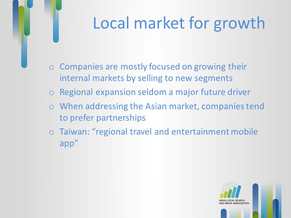 Local market for growth