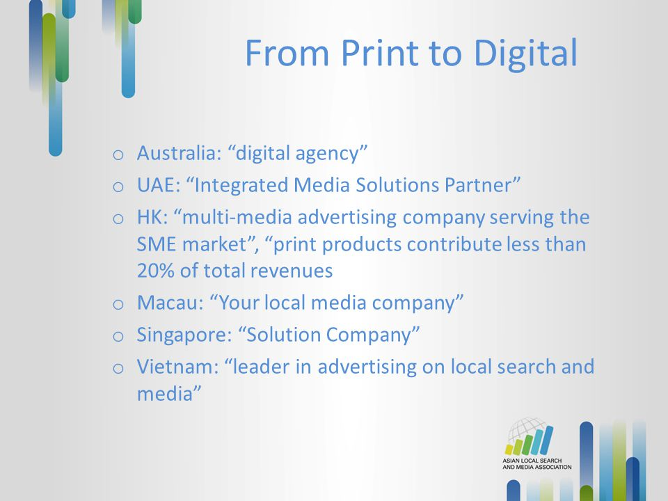 From Print to Digital Australia: digital agency