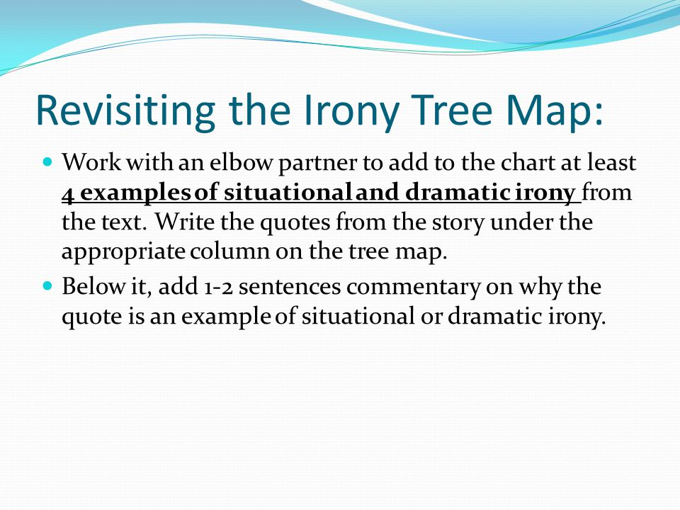 Revisiting the Irony Tree Map: