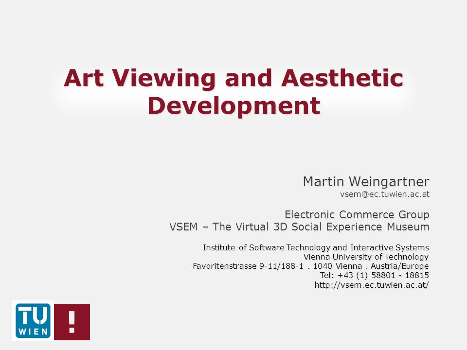 Art Viewing and Aesthetic Development