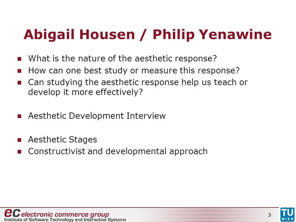 Abigail Housen / Philip Yenawine