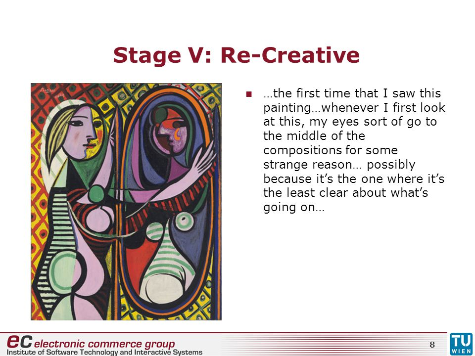 Stage V: Re-Creative