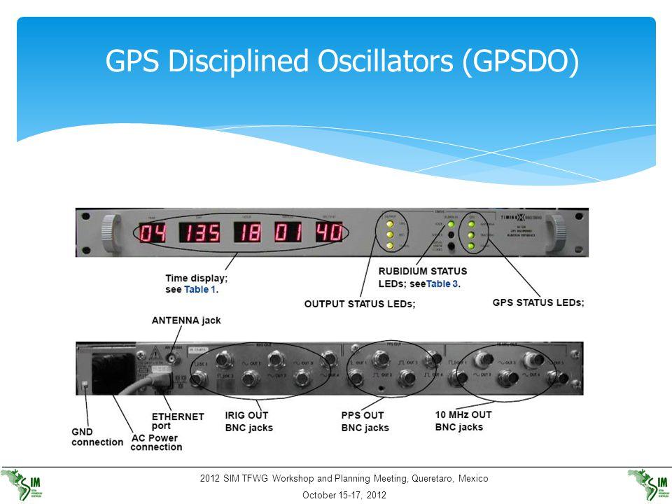 GPS Disciplined Oscillators (GPSDO)
