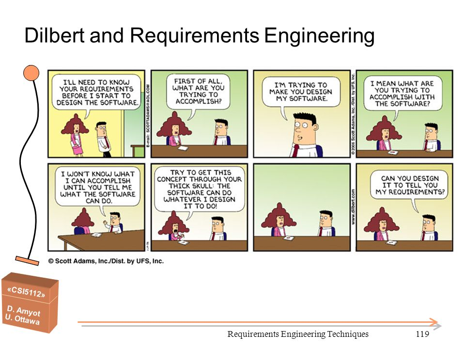 Dilbert and Requirements Engineering