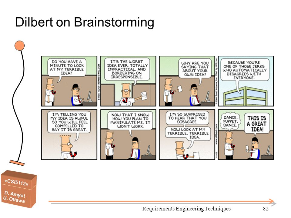 Dilbert on Brainstorming