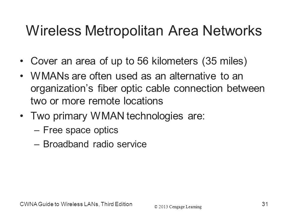 Wireless Metropolitan Area Networks