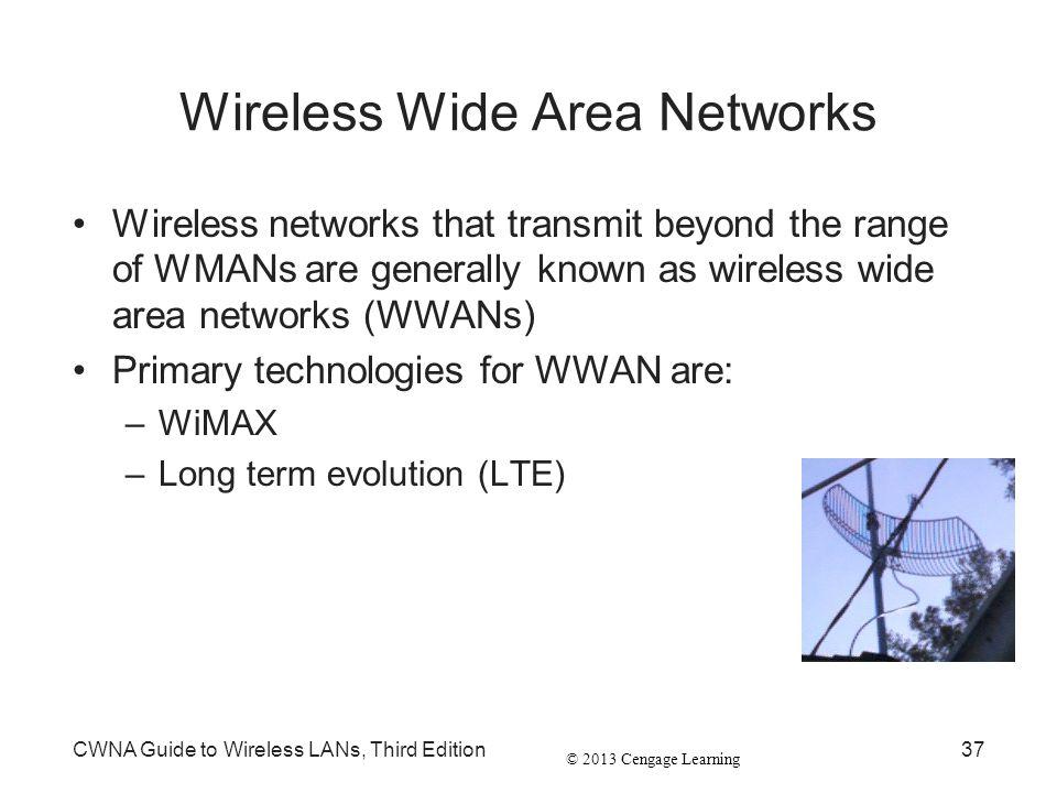 Wireless Wide Area Networks