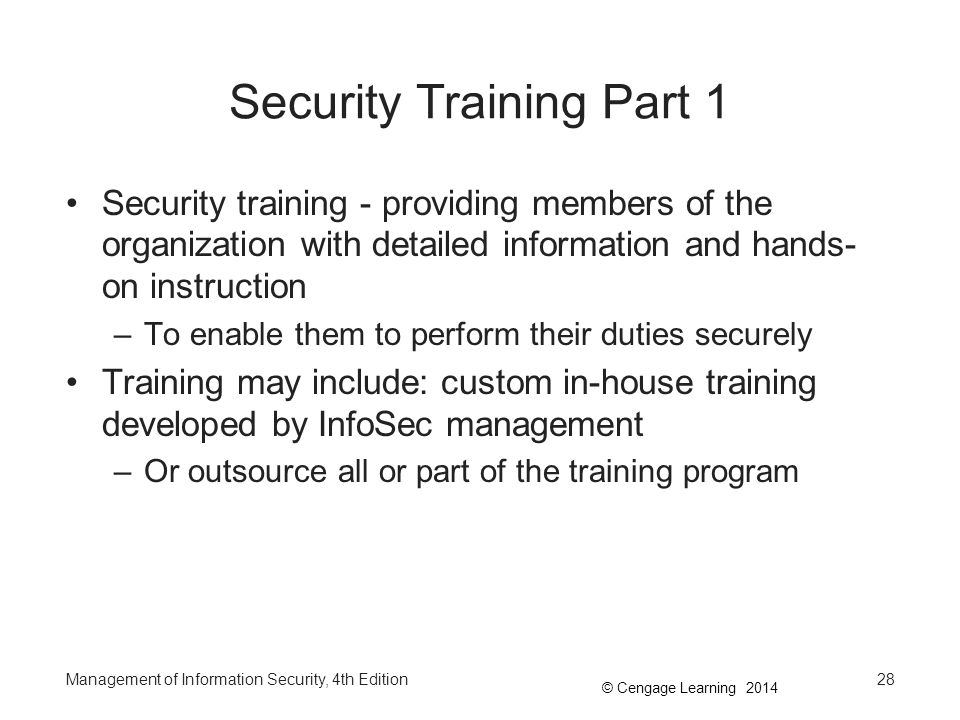 Security Training Part 1