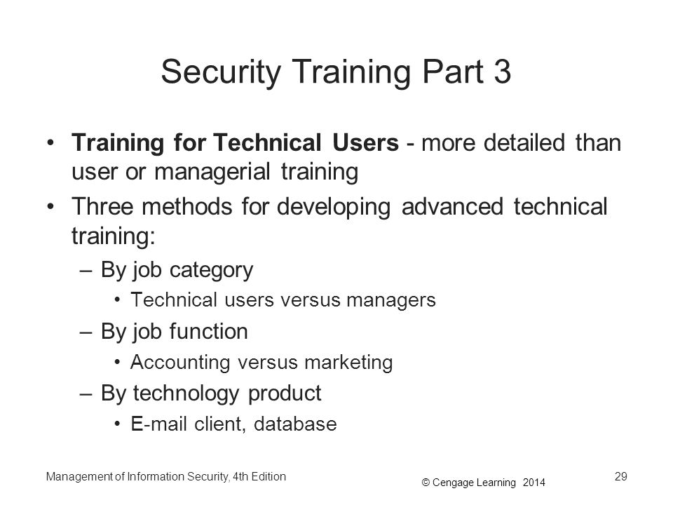 Security Training Part 3