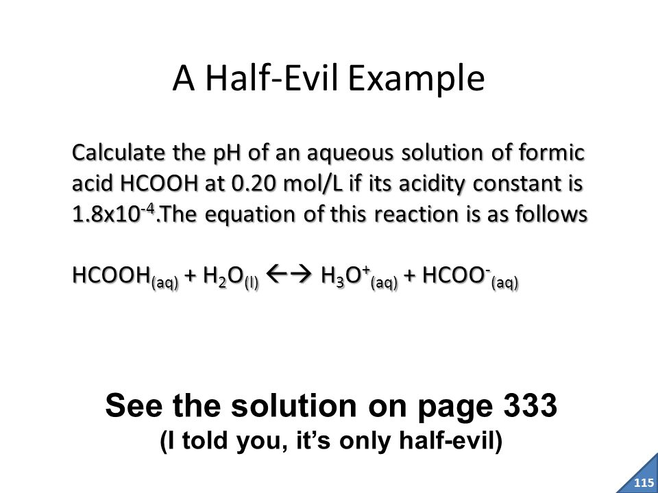 See the solution on page 333 (I told you, it's only half-evil)