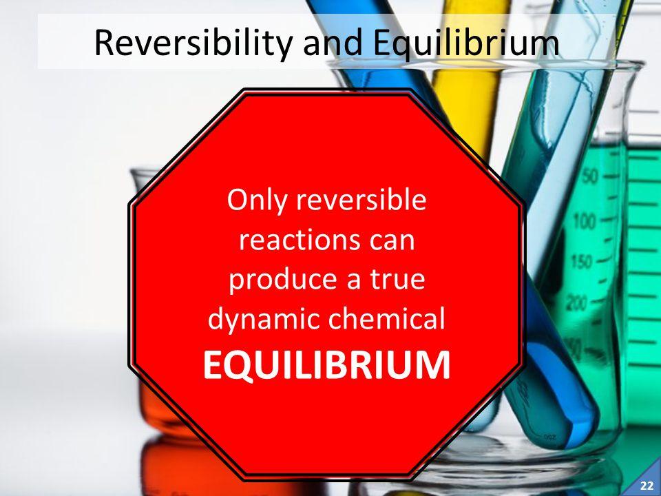 Reversibility and Equilibrium