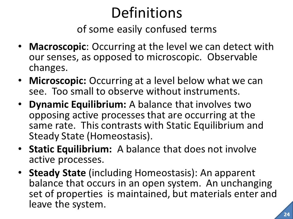 Definitions of some easily confused terms