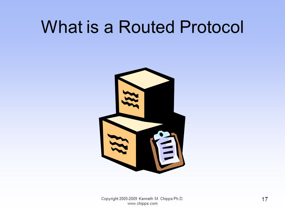 What is a Routed Protocol