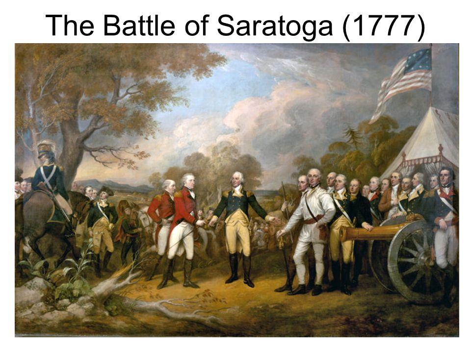The Battle of Saratoga (1777)