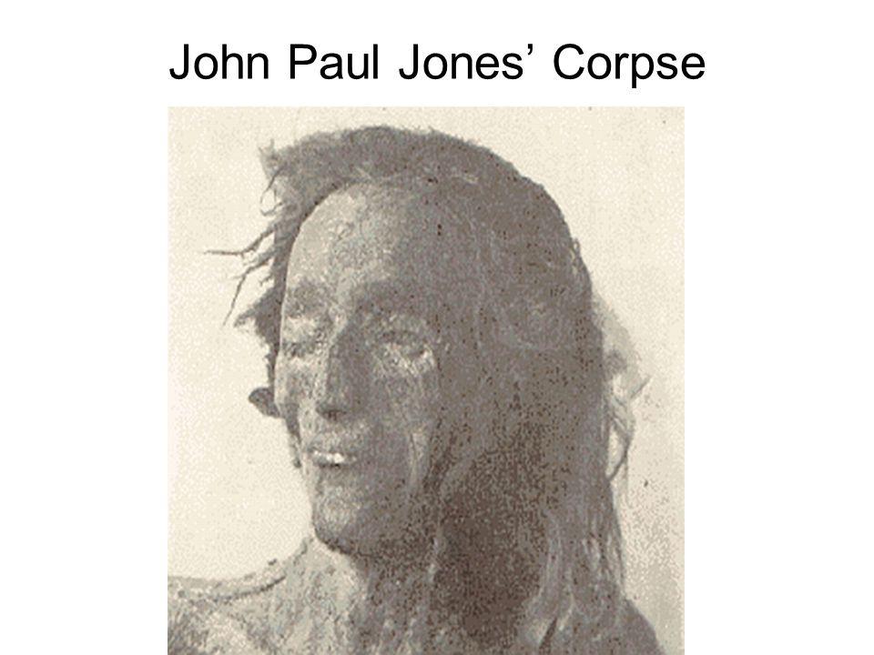 John Paul Jones' Corpse