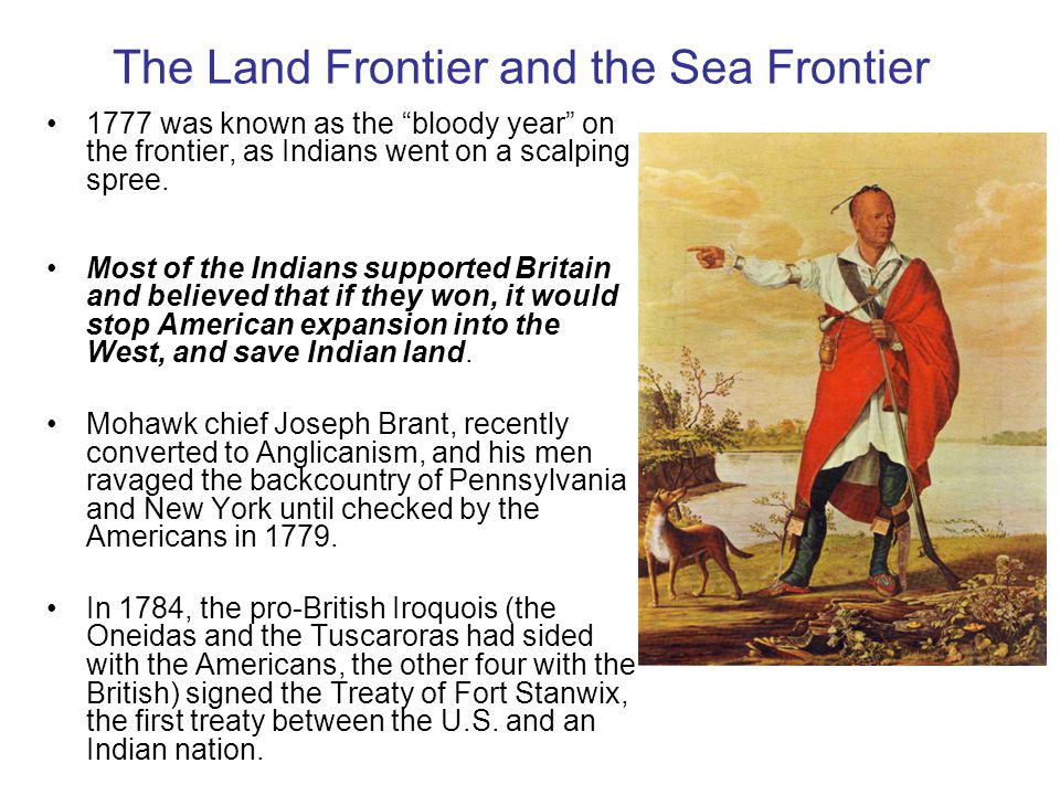 The Land Frontier and the Sea Frontier