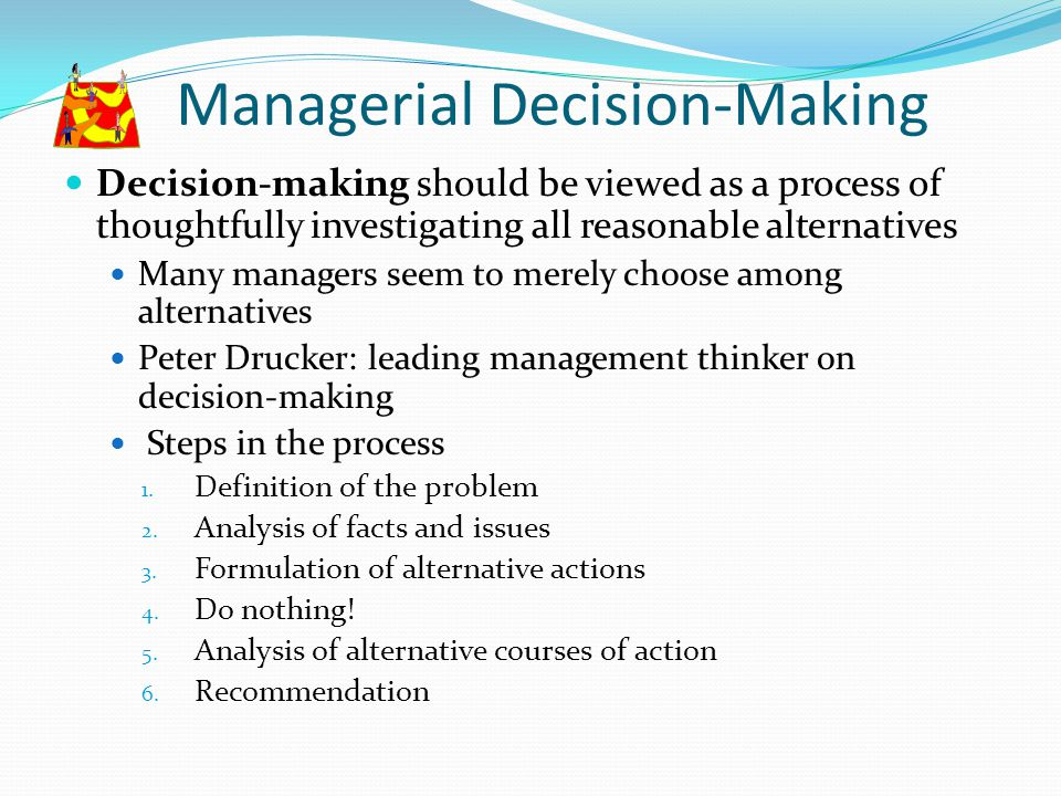Managerial Decision-Making