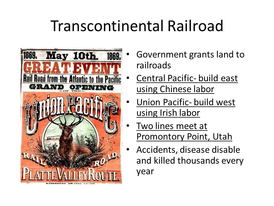 union and pacific railroad meet