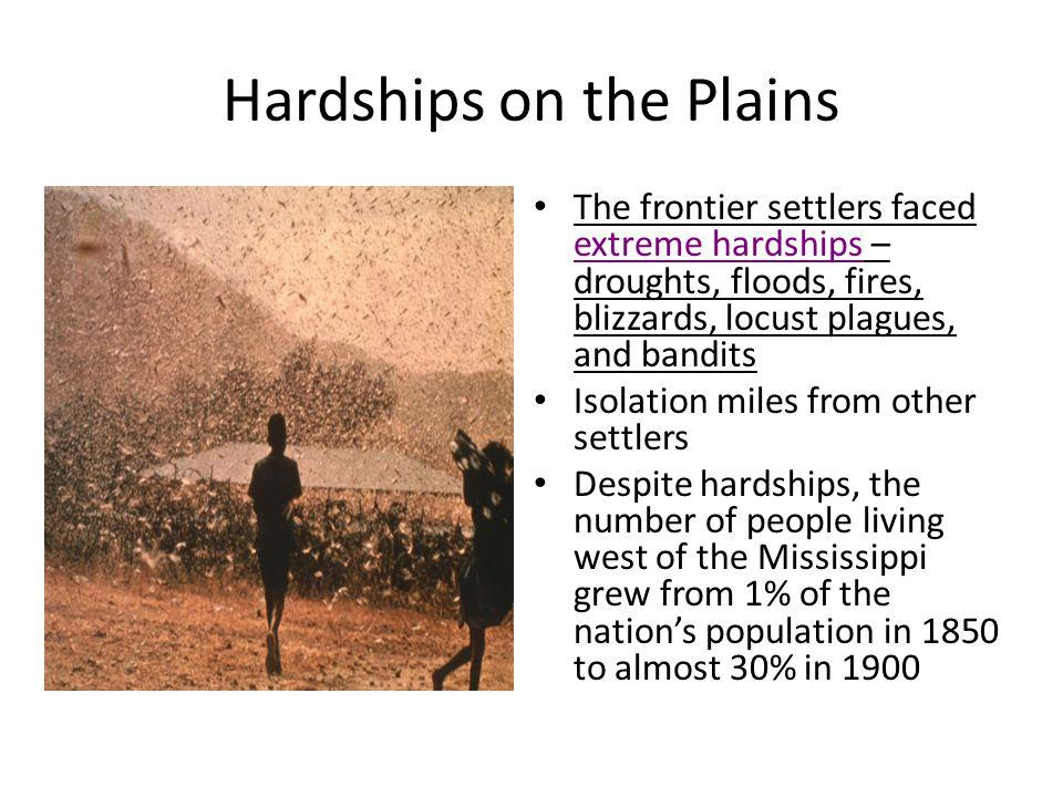 Hardships on the Plains
