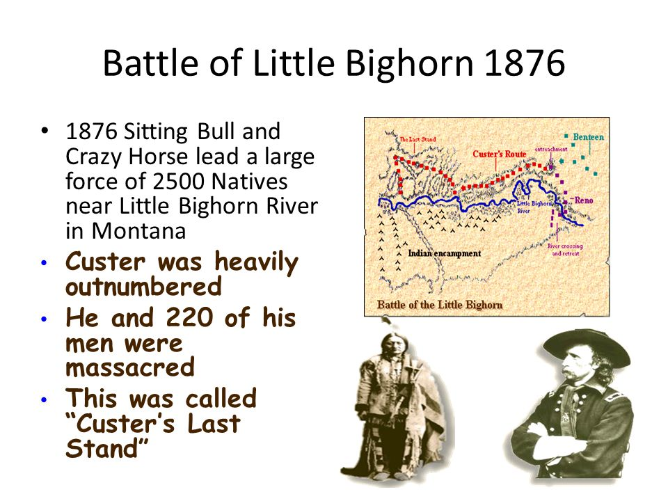 Battle of Little Bighorn 1876