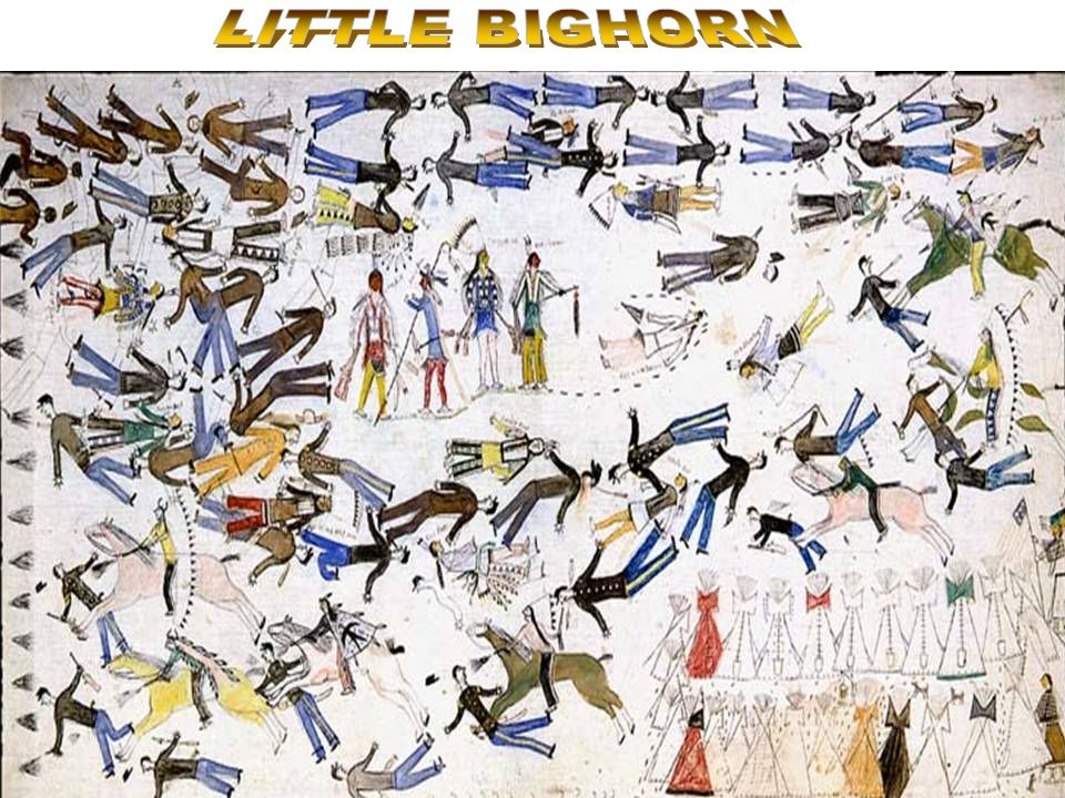 Painting-Little Bighorn