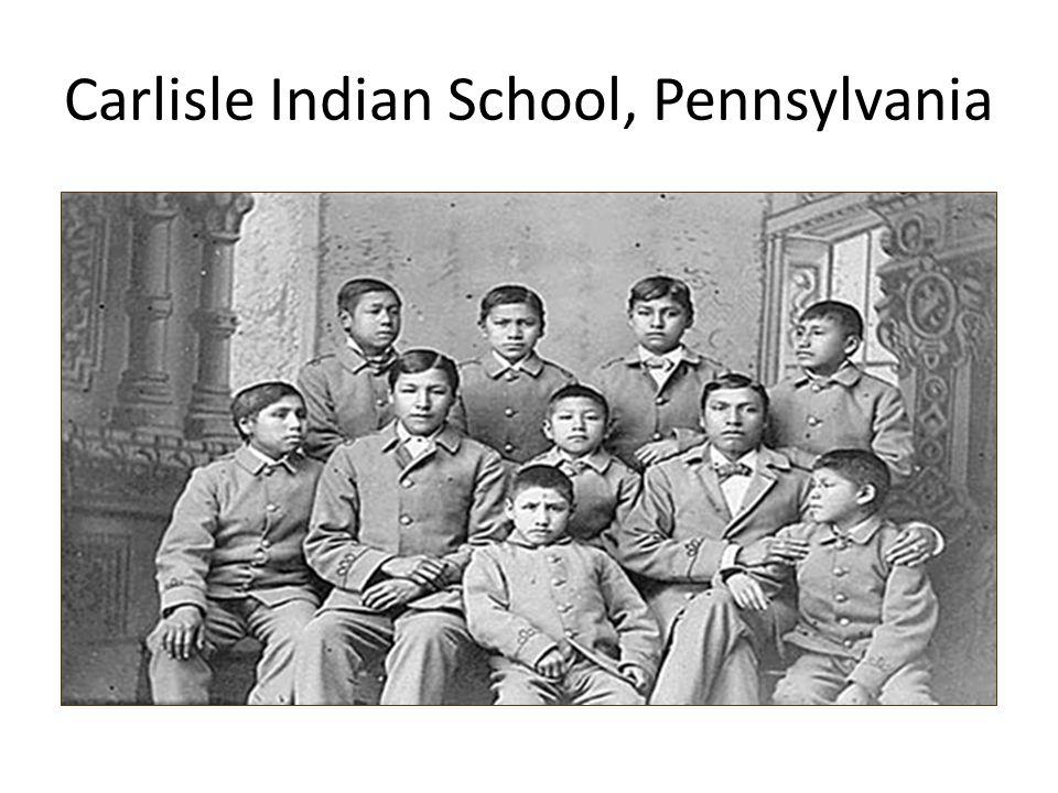 Carlisle Indian School, Pennsylvania