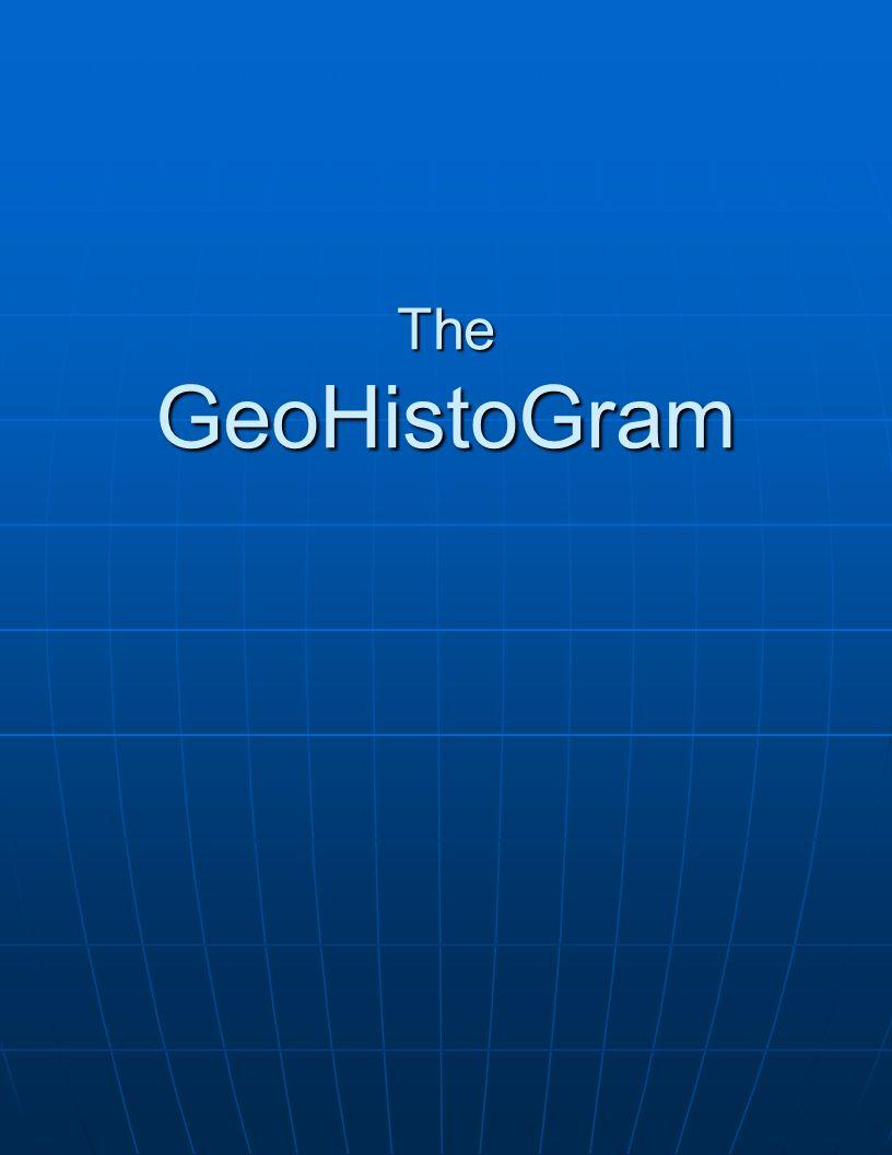 The GeoHistoGram