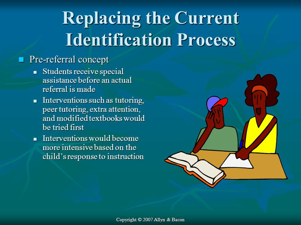 Replacing the Current Identification Process