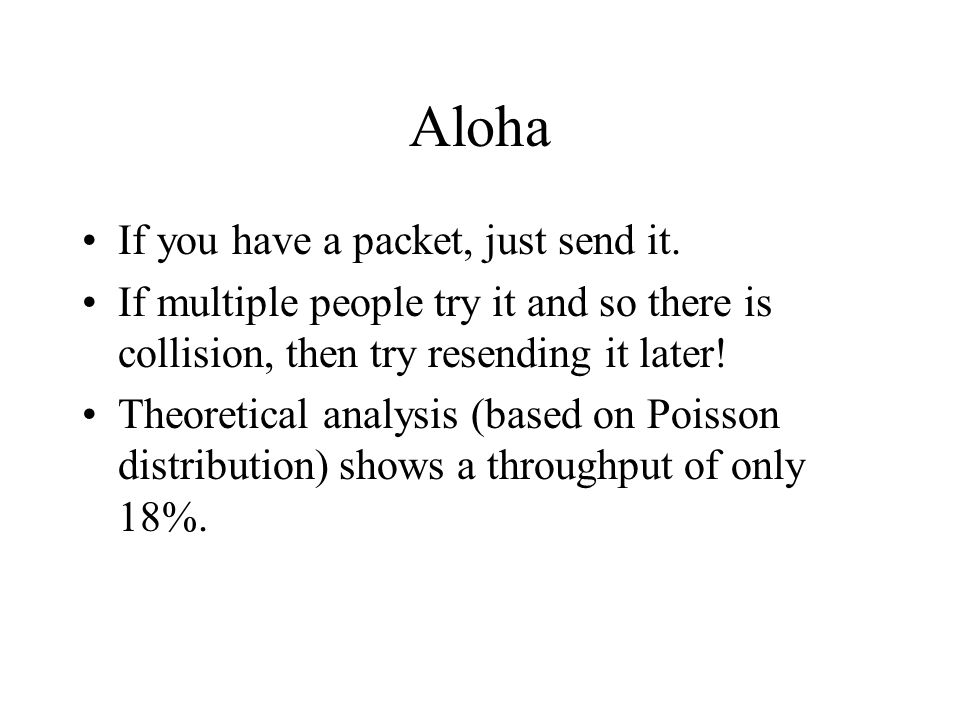 Aloha If you have a packet, just send it.