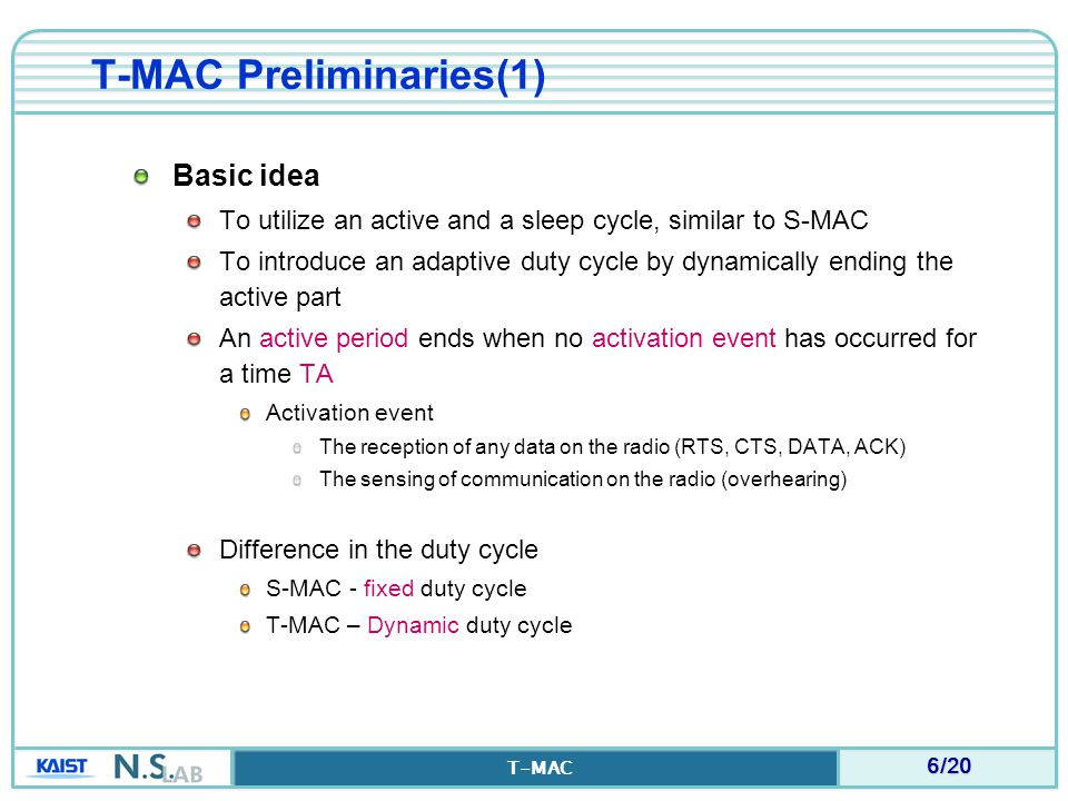 T-MAC Preliminaries(1)
